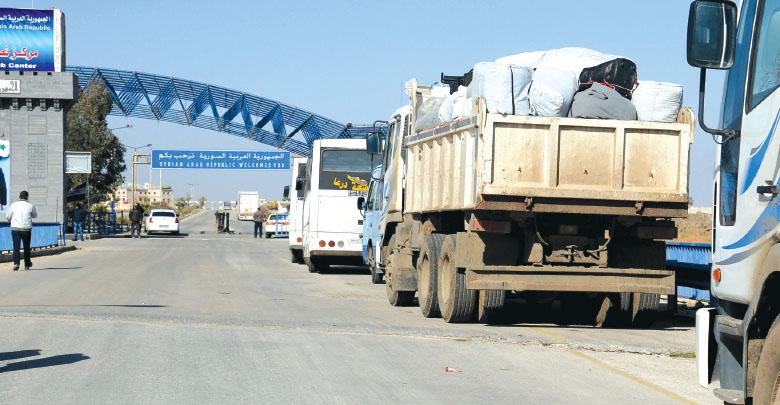 Photo of خطة لإعادة تأهيل المنطقة الحرة السورية الأردنية من التخريب واتخاذ القرارات الكفيلة بإطلاق عملها في أسرع وقت
